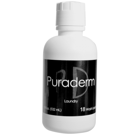 Puraderm Laundry 18 Wash Loads Detergent (18 oz.)