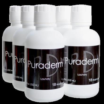 Puraderm 18 Wash Load Detergent Deal (6 Bottles)